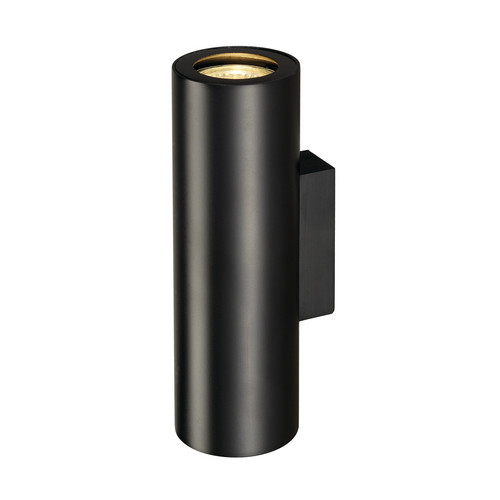 Marbel 151800 SLV ENOLA_B UP-DOWN светильник настенный для 2-х ламп GU10 по 50Вт макс., черный
