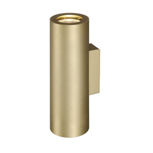 Marbel 151803 SLV ENOLA_B UP-DOWN светильник настенный для 2-х ламп GU10 по 50Вт макс., латунь