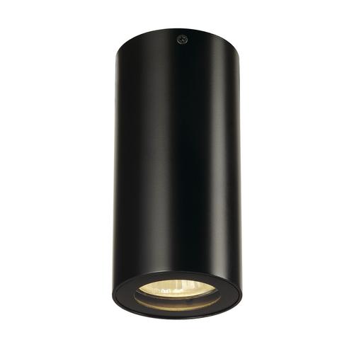 Marbel 151810 SLV ENOLA_B CL-1 светильник потолочный для лампы GU10 35Вт макс., черный
