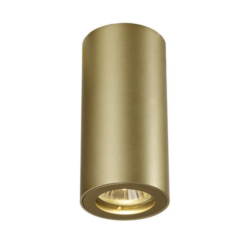 Marbel 151813 SLV ENOLA_B CL-1 светильник потолочный для лампы GU10 35Вт макс., латунь
