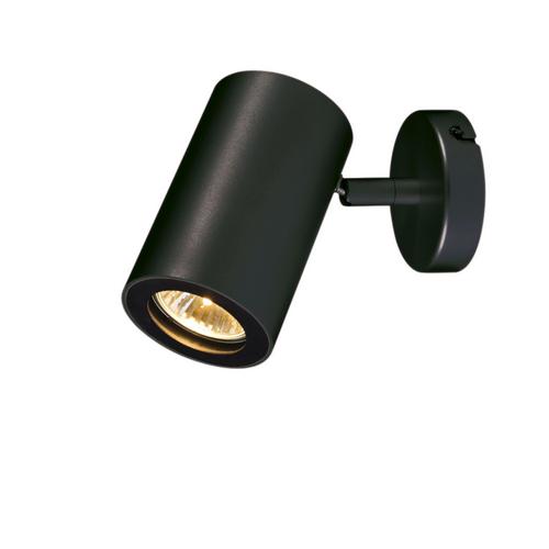 Marbel 152010 SLV ENOLA_B SINGLE SPOT светильник накладной для лампы GU10 50Вт макс., черный
