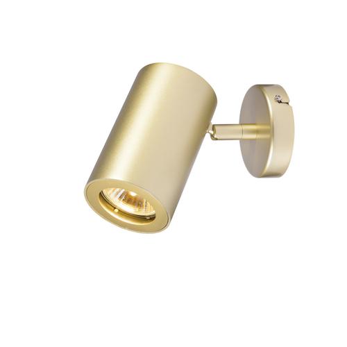 Marbel 152013 SLV ENOLA_B SINGLE SPOT светильник накладной для лампы GU10 50Вт макс., латунь