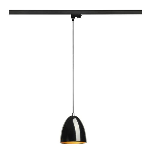 Marbel 153140 SLV 3Ph, PARA CONE 14 светильник подвесной для лампы GU10 35Вт макс., черный/ золотой