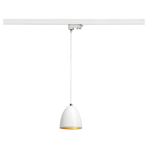 Marbel 153141 SLV 3Ph, PARA CONE 14 светильник подвесной для лампы GU10 35Вт макс., белый/ золотой