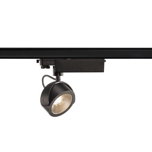 Marbel 153600 SLV 3Ph, KALU TRACK LED светильник 17Вт с LED 3000К, 1000лм, 24°, черный