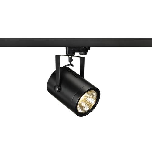Marbel 153810 SLV 3Ph, EURO SPOT LED MEDIUM светильник 21Вт с LED 3000К, 1350лм, 36°, черный