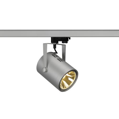 Marbel 153814 SLV 3Ph, EURO SPOT LED MEDIUM светильник 21Вт с LED 3000К, 1350лм, 36°, серебристый
