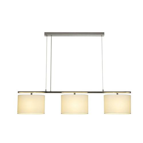 Marbel 155871 SLV TRIADEM светильник подвесной для 3-х ламп E27 по 60Вт макс., хром / белый