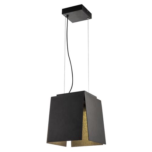 Marbel 155960 SLV AVENTO 30 PD светильник подвесной 15Вт с LED 3000К, 660лм, черный/ золото