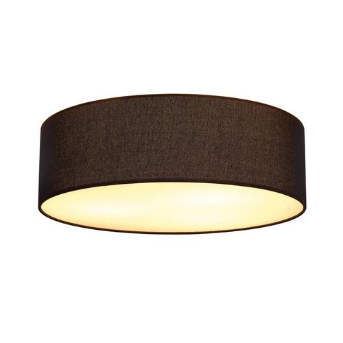 Marbel 156050 SLV TENORA CL-1 светильник потолочный для 3-x ламп E27 по 23Вт макс., хром/ черный