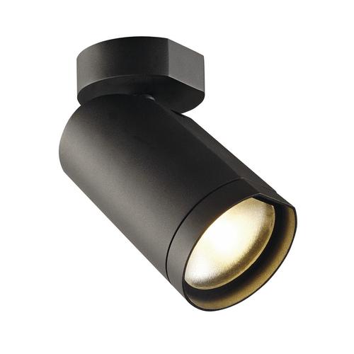 Marbel 156420 SLV BILAS SINGLE CW светильник накладной 16Вт с LED 2700K, 1000лм, 25°, черный