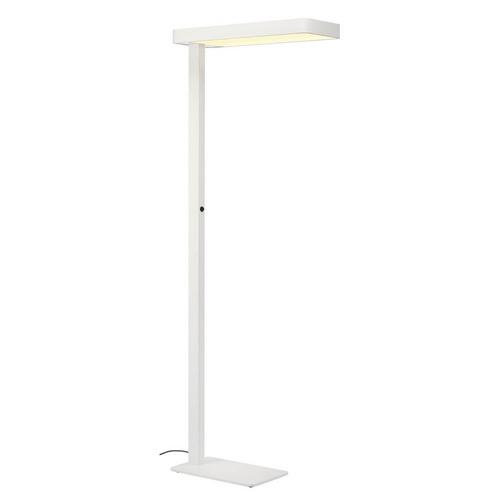 Marbel 157901 SLV WORKLIGHT FL светильник напольный 35Вт c LED 3000К, 2x 1850лм, белый