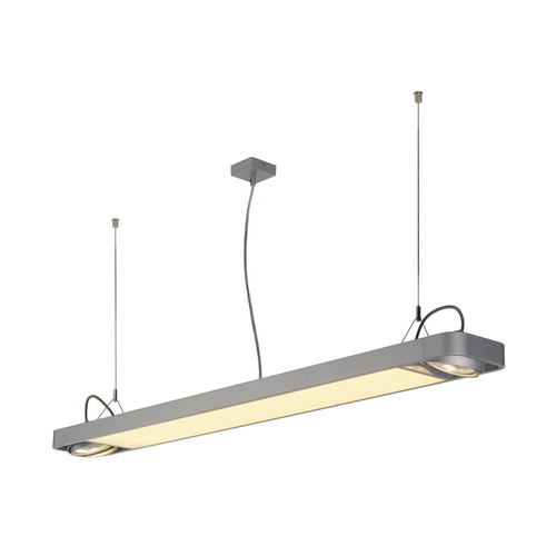 Marbel 159144 SLV AIXLIGHT® R2 OFFICE 150 светильник подвесной c LED 35Вт 4000К 4100лм и для ламп ES111 2х7