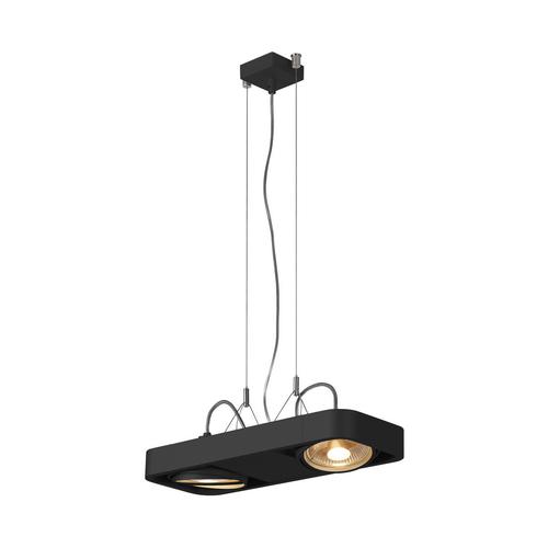 Marbel 159210 SLV AIXLIGHT® R2 DUO QPAR111 светильник подвесной для 2-x ламп ES111 по 75Вт макс., черный