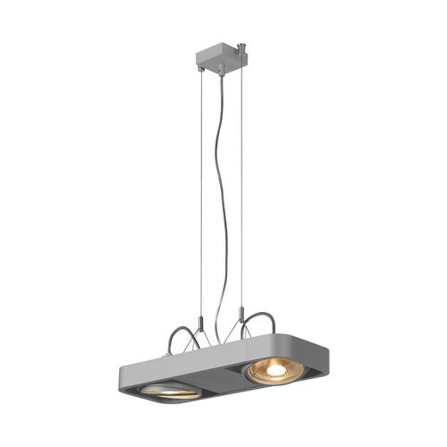 Marbel 159214 SLV AIXLIGHT® R2 DUO QPAR111 светильник подвесной для 2-x ламп ES111 по 75Вт макс., серебрист