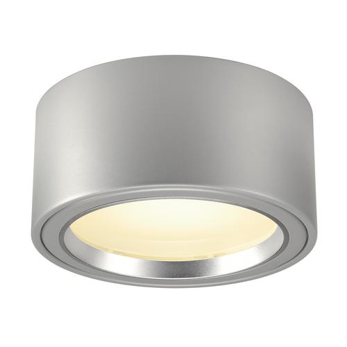 Marbel 161464 SLV FERA 25 светильник потолочный 21Вт c LED 3000К, 1800лм, 100°, серебристый