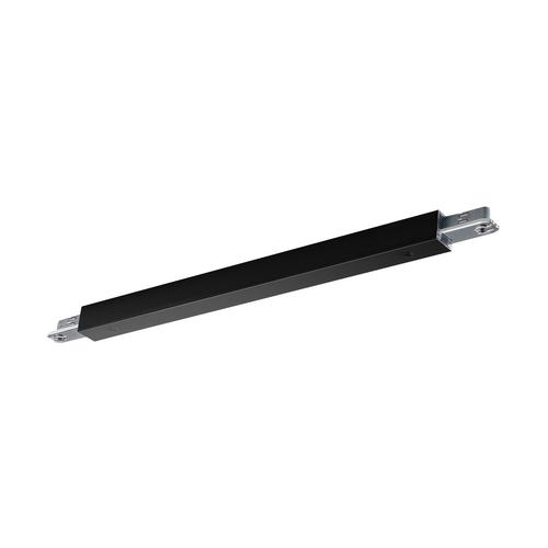 Marbel 172050 SLV D-TRACK, коннектор прямой с разъёмом питания, 230В, 2х 10А макс., черный
