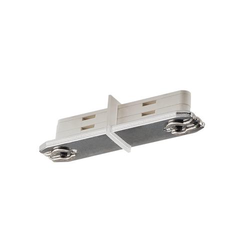 Marbel 172145 SLV D-TRACK, коннектор прямой изолирующий внутренний, прозрачный/ серебристый