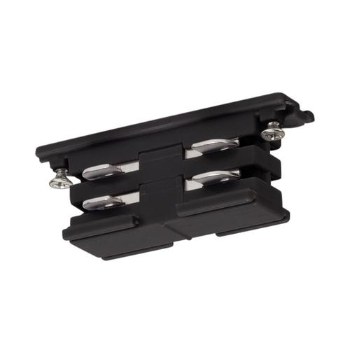 Marbel 175070 SLV 3Ph | S-TRACK, коннектор прямой внутренний электрический, 16А макс., черный