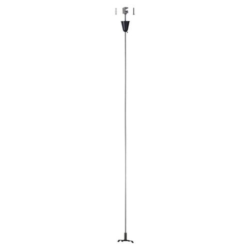 Marbel 175160 SLV 3Ph | S-TRACK, стойка потолочная, 1м, черный