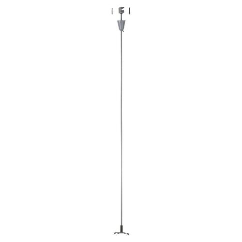 Marbel 175164 SLV 3Ph | S-TRACK, стойка потолочная, 1м, серебристый