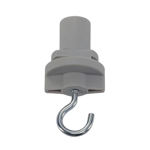 Marbel 175194 SLV 3Ph | S-TRACK, адаптер с крюком, серебристый