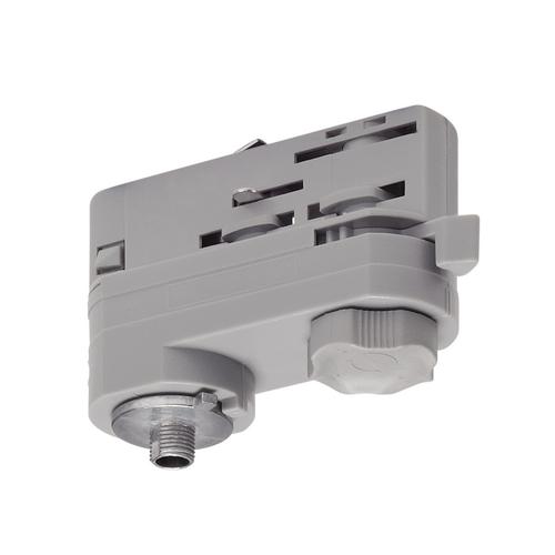 Marbel 175204 SLV 3Ph   S-TRACK, адаптер электрический, 10А макс., 10кг макс., серебристый