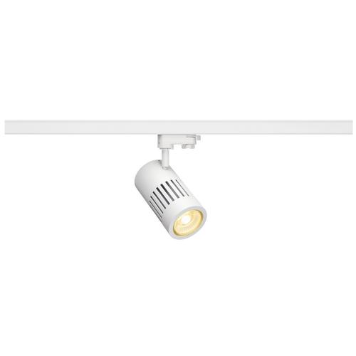 Marbel 176081 SLV 3Ph, STRUCTEC R9 светильник 36Вт с LED 3000К, 2460лм, 36°, R9-CRI>95, белый