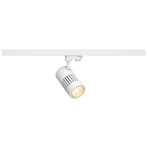 Marbel 176091 SLV 3Ph, STRUCTEC R9 светильник 36Вт с LED 3000К, 2460лм, 60°, R9-CRI>95, белый