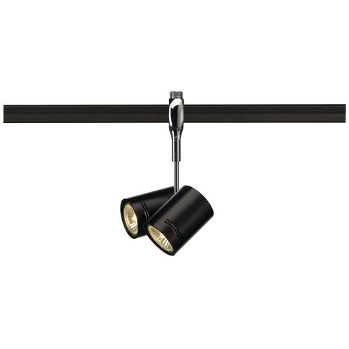 Marbel 185440 SLV EASYTEC II®, BIMA 2 светильник для 2-х ламп GU10 по 50Вт макс, хром / черный