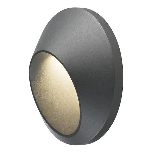 Marbel 227185 SLV DELO LED светильник настенный IP55 5.8Вт с LED 3000К, 170лм, антрацит