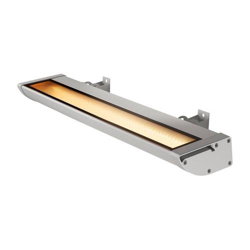 Marbel 227734 SLV VANO WING LED 64 светильник накладной IP65 25Вт c LED 3000К, 1500лм, 120°, серебристый