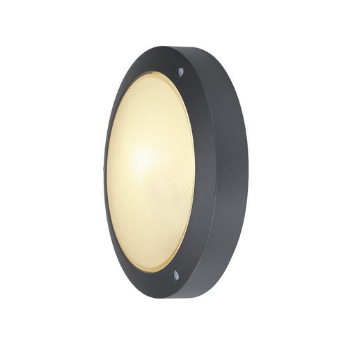 Marbel 229075 SLV BULAN светильник накладной IP44 для лампы E14 60Вт макс., антрацит