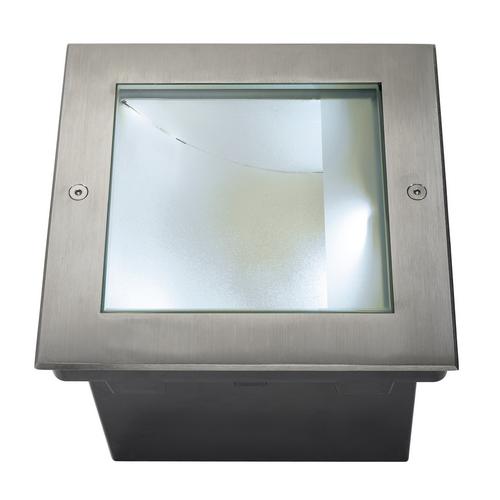 Marbel 229381 SLV DASAR® 255 SQUARE светильник встраиваемый IP67 34Вт c LED 4000К, 1620лм, сталь