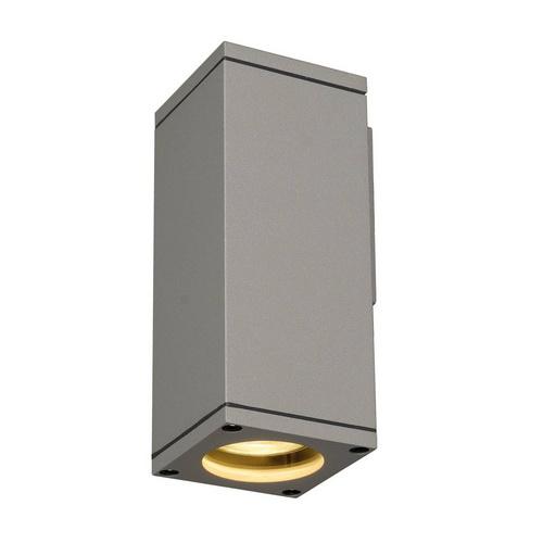 Marbel 229524 SLV THEO WALL OUT светильник настенный IP44 для лампы GU10 35Вт макс., серебристый