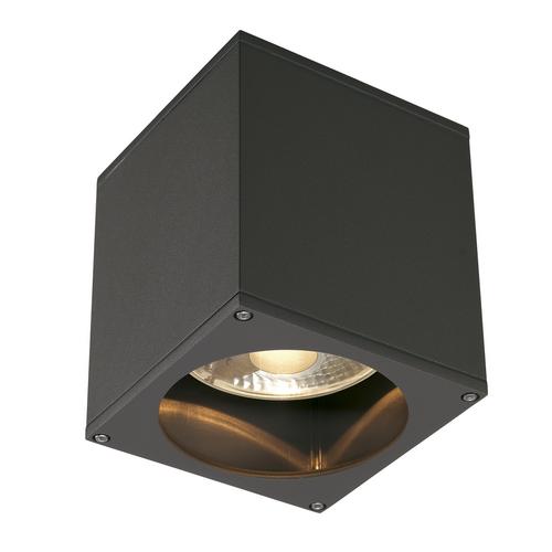 Marbel 229555 SLV BIG THEO CEILING OUT светильник потолочный IP44 для лампы ES111 75Вт макс., антрацит