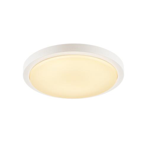 Marbel 229961 SLV AINOS светильник накладной IP44 21Вт с LED 3000К, 1430лм, 120°, белый
