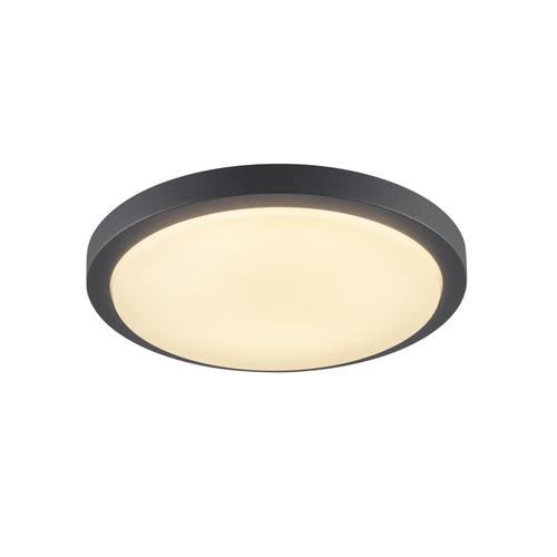 Marbel 229965 SLV AINOS светильник накладной IP44 21Вт с LED 3000К, 1430лм, 120°, антрацит