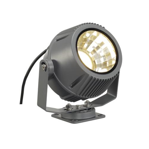 Marbel 231072 SLV FLAC BEAM® светильник накладной IP65 27Вт с LED 3000К, 1800лм, 60°, кабель 2м с вилкой, т
