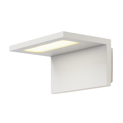 Marbel 231351 SLV ANGOLUX светильник настенный IP44 7.6Вт с LED 3000К, 500лм, 120°, белый