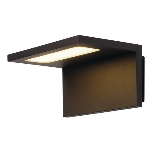Marbel 231355 SLV ANGOLUX светильник настенный IP44 7.6Вт с LED 3000К, 500лм, 120°, антрацит