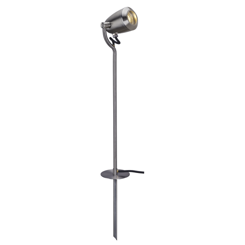 Marbel 231682 SLV CV-SPOT 80 светильник ландшафтный IP65 для LED GU10 4Вт макс., с кабелем 2м с вилкой, ста