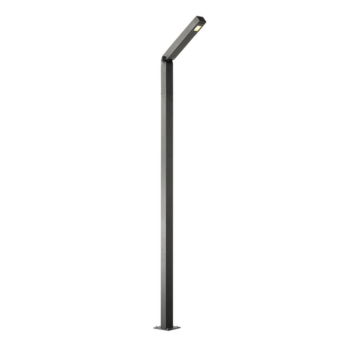 Marbel 231845 SLV BENDO 225 светильник ландшафтный IP55 30Вт с LED 3000К, 1800лм, 80°, антрацит