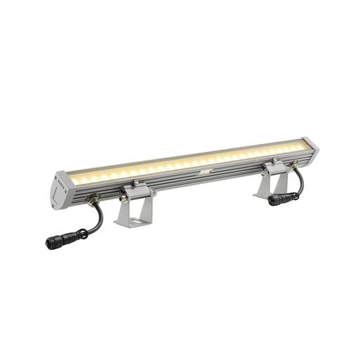 Marbel 231954 SLV GALEN 60 светильник накладной IP55 18Вт с LED 3000К, 850лм, 120°, серебристый