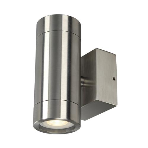 Marbel 233302 SLV ASTINA STEEL светильник настенный IP44 для 2х ламп GU10 по 35Вт макс., сталь