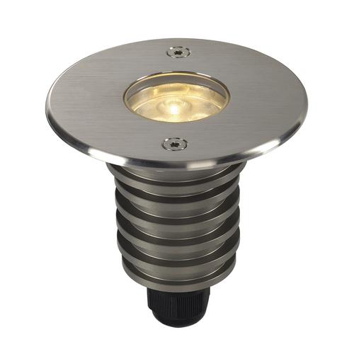 Marbel 233520 SLV DASAR® 92 светильник встраиваемый IP67 5.5Вт c LED 3000К, 300лм, 40°, сталь