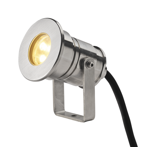 Marbel 233571 SLV DASAR® PROJECTOR HV светильник IP67 220В 5.5Вт с LED 3000К, 300лм, 40°, сталь