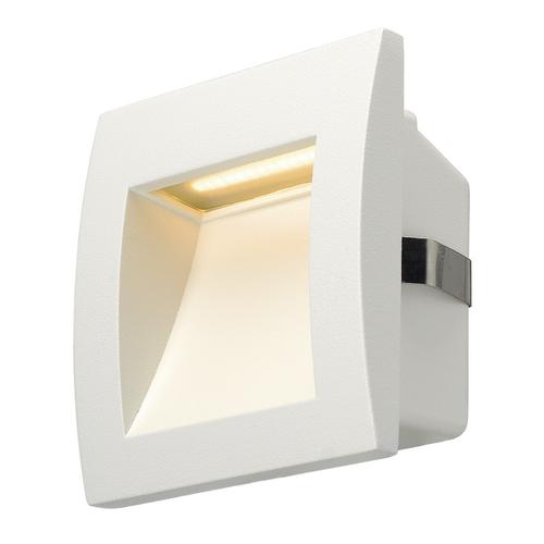 Marbel 233601 SLV DOWNUNDER OUT S светильник встраиваемый IP55 1.7Вт c LED 3000К, 40лм, белый