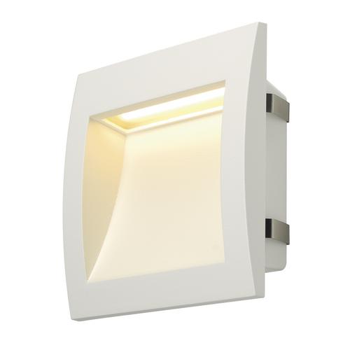 Marbel 233611 SLV DOWNUNDER OUT L светильник встраиваемый IP55 3.3Вт c LED 3000К, 155лм, белый
