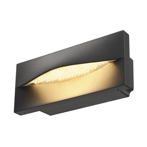 Marbel 233635 SLV ADI светильник встраиваемый IP55 18Вт c LED 3000К, 870лм, антрацит